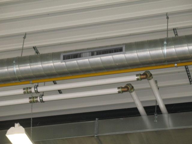 Ventilatie werkplaats garage