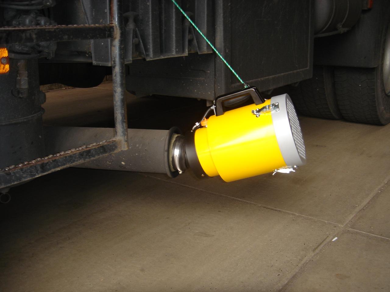 Wegwerpfilter vrachtwagen 0