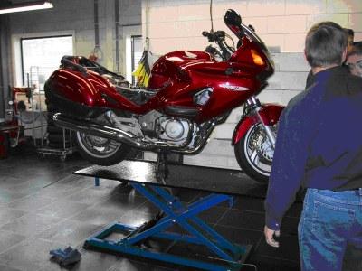 Hefbrug motorfiets 1