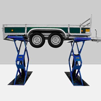Hefbrug caravan