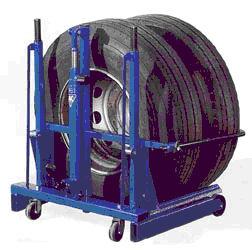 Wheel removal trolley 2