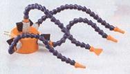 Slangen op magneetvoet