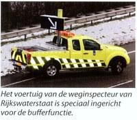 Weginspecteur bufferfunctie voertuig